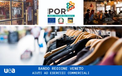 Regione Veneto – Bando a fondo perduto per aiuti straordinari a negozi ed esercizi commerciali