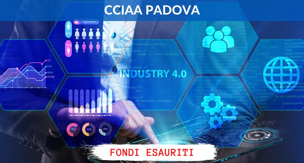 CCIAA Padova – Digitalizzazione e transizione verso Impresa 4.0 delle PMI