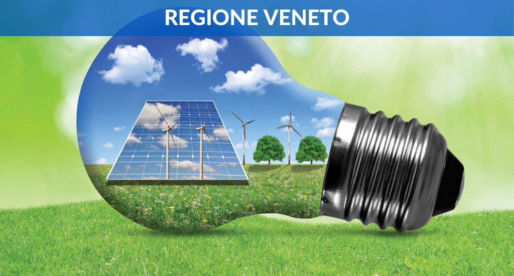 Regione Veneto – Fino al 30% per la riduzione dei consumi energetici e delle emissioni di gas climalteranti
