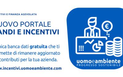 Nuovo portale | Incentivi e Finanza agevolata