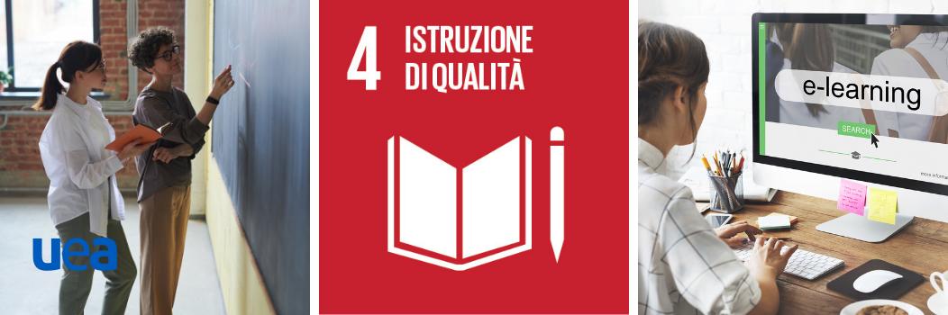 Agenda 2030 – Azioni per assicurare un'istruzione di qualità.