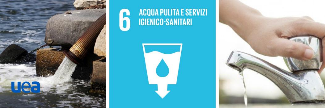 Goal 6 | Agenda 2030 ONU | Acqua puliti e servizi igienico-sanitari