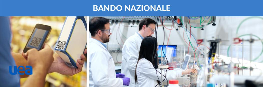 Bando nazionale. Progetti di ricerca e sviluppo per l'economia circolare