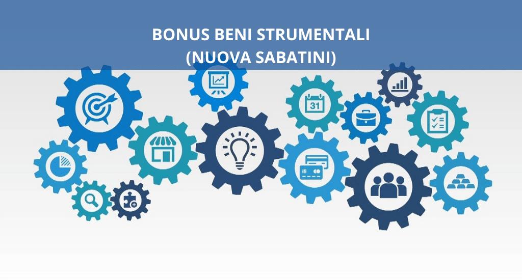 Bando beni strumentali (Nuova Sabatini)