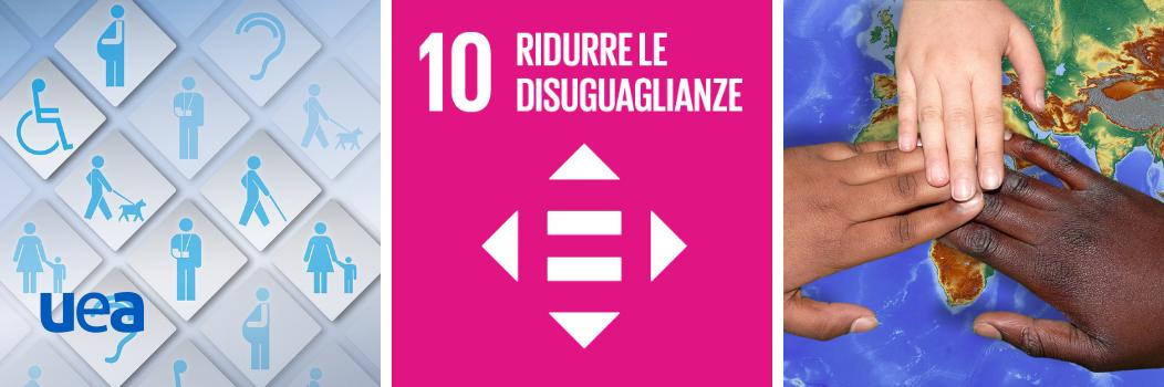 Goal 10 | Agenda ONU 2030 ONU | Ridurre le disuguaglianze